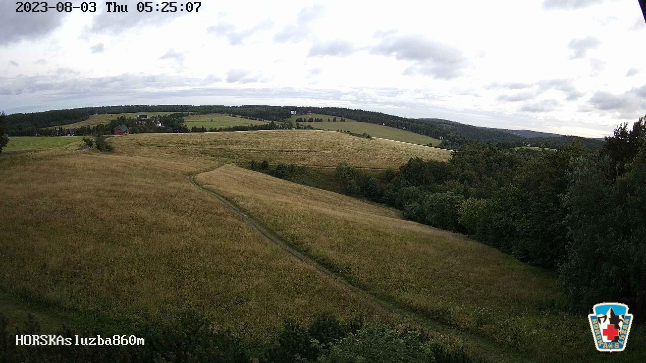 Webcam Skigebied Bournak cam 9 - Ertsgebergte