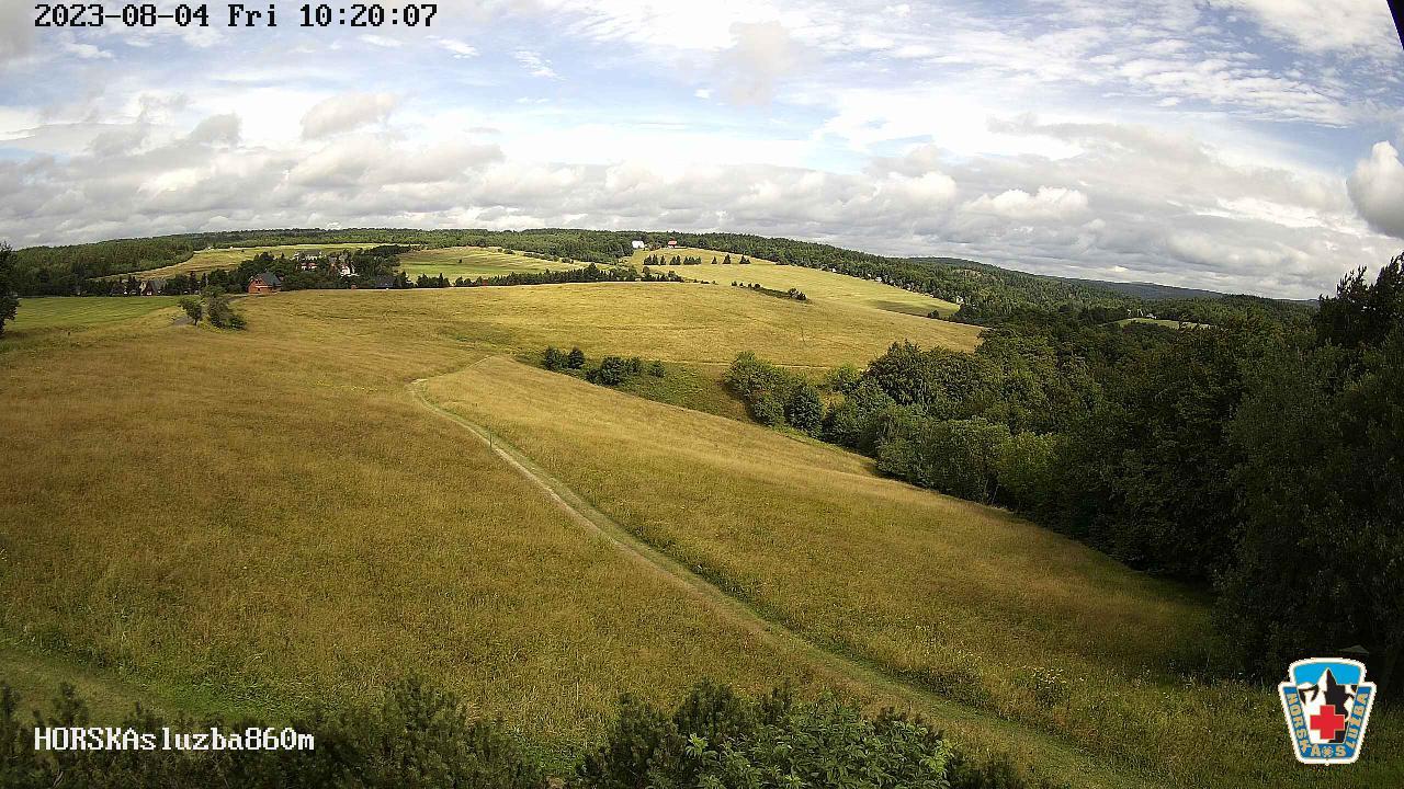 Webcam Ski Resort Bournak cam 9 - Ore Mountains